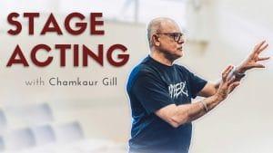 Chamkaur Gill Stage Acting